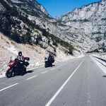 SH20 by a motorcycle, a route through the Albanian Stelvio!